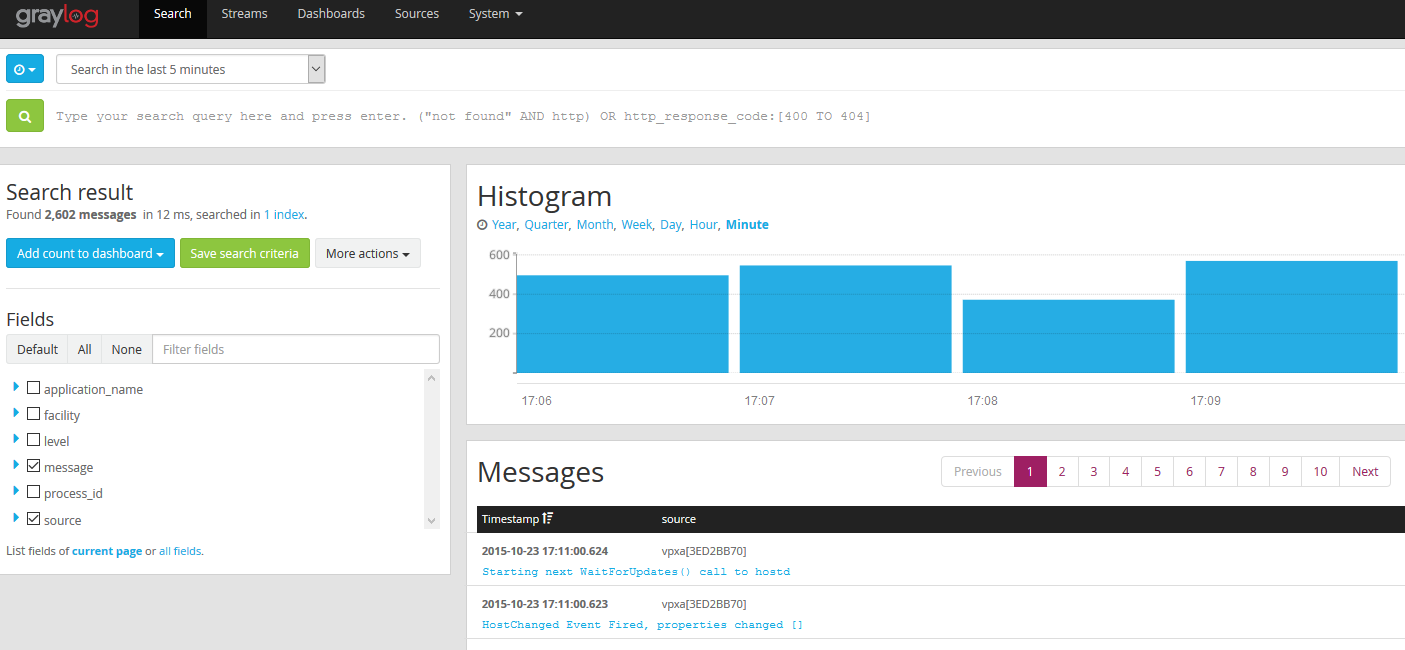 Theres logging, then there's Graylog  | port115