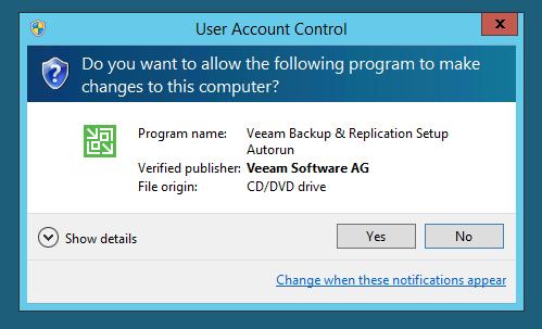 Veeam Backup Free Edition – Install   port115